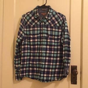W's S Cowgirl Flannel W/Paisley Accents